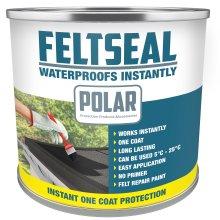 Polar Feltseal Felt Roof Repair Paint - 500ml