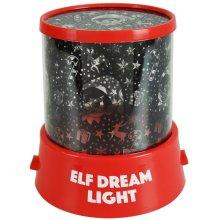 Xmas Elf Dream Gazer Night Light Colour Changing LED Wall Projector Mood Lamp