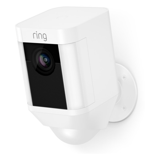 Ring Spotlight Battery Cam - White | Home Security Camera
