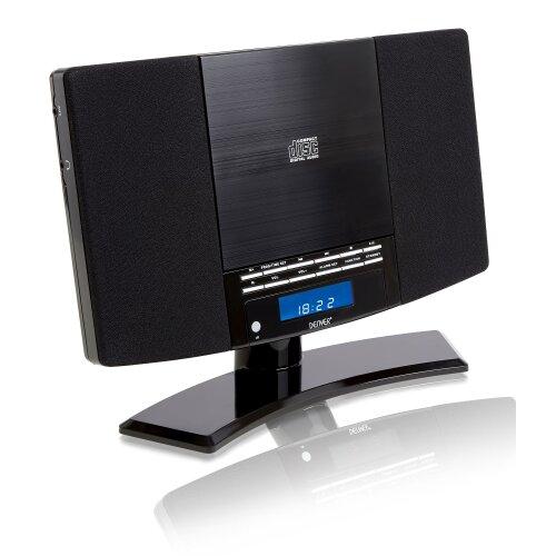 Denver MC-5220 MK2 CD Player Stereo - FM, Clock Alarm & Remote