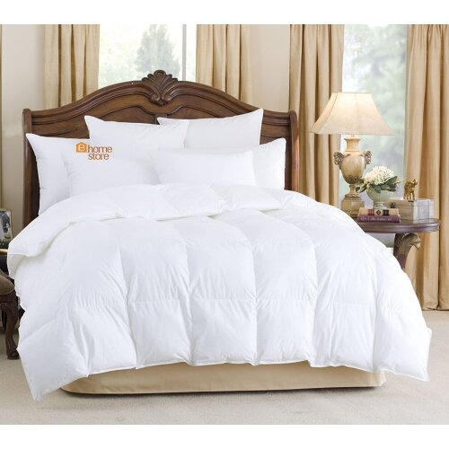 ALL SEASONS COMBINATION GOOSE FEATHER AND DOWN DUVET QUILT 15.0 TOG (10.5+4.5) (Single 135cm x 200cm)