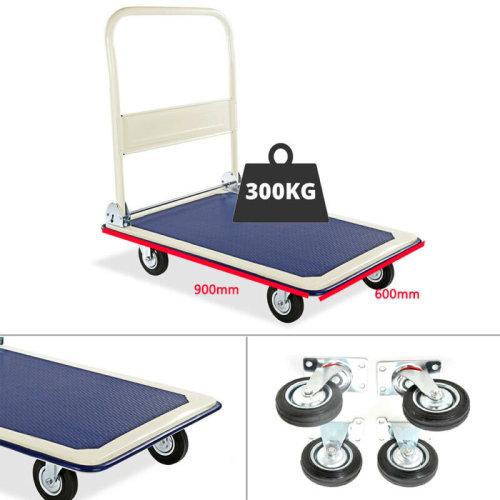 300KG Folding Platform Trolley Truck Sack Hand Heavy Duty Flat Bed UK