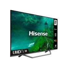 """Hisense AE7400F 43AE7400FTUK TV 109.2 cm (43"""") 4K Ultra HD Smart TV Wi-Fi Grey - Refurbished"""