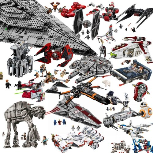 StarWars Millennium Imperial TIE Fighter Building Blocks Compatible Toys Children