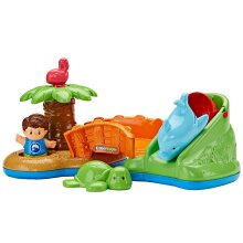 Fisher-Price Little People Spill N Surprise Island