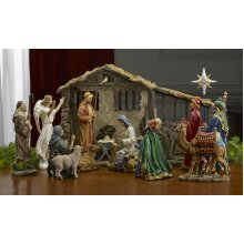 The Real Life Nativity 10″ Scale