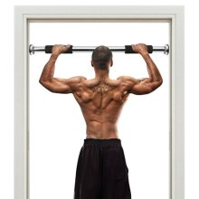 Adjustable Pull-up Bar Gym Exercise Training Chin-up Fitness