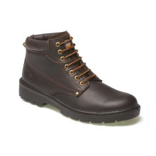 Dickies Antrim Safety Work Boots Brown (Sizes 7-12) Men's Steel Toe Cap Shoes