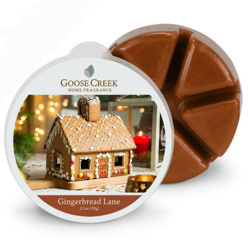 Goose Creek 2.1oz  Breakable Wax Melt Tart for Burners Gingerbread Lane