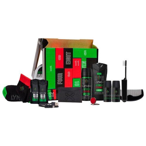 (Buy 1) Lynx Africa Countdown To Christmas 2020 Advent Calendar | Lynx Gift Set