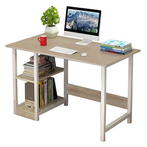 Home Office Computer PC Desk Writing Table Workstation Wood Bookshelf Furniture