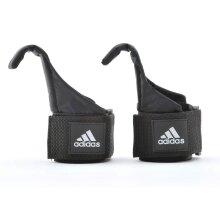 Adidas Hook Weight Lifting Straps Hand Bar Support Power Wrist Wrap