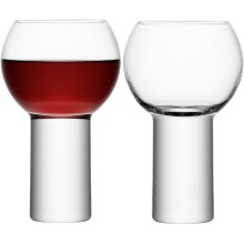 LSA International BI08 Boris Wine Goblet 360ml Clear x 2