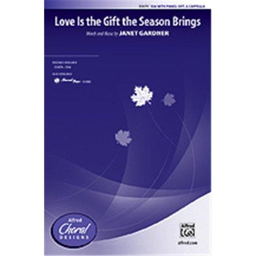 Alfred 00-35480 LOVE IS GIFT SEASON BRINGS-STRX CD