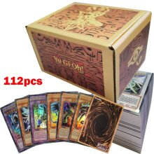 112pcs YuGiOh Game Playing Cards Kids Collection