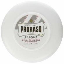 Proraso Shaving Soap in a Bowl, White