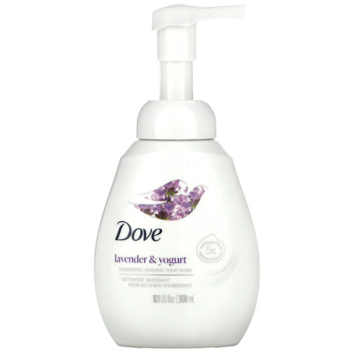 Dove, Nourishing Foaming Hand Soap, Lavender & Yogurt, 300ml