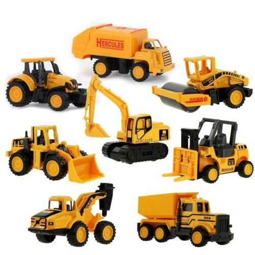 Mini Construction Truck Car Model Toy Kids Gift