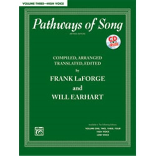 Alfred 00-38061 PATHWAYS OF SONG 3-HI-BK&CD