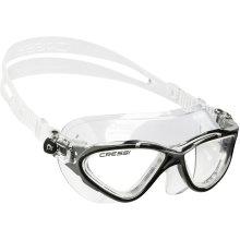 Cressi Unisex's DE202650 Planet Mask, Black/Silver-Clear Lens, Adult Mid