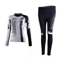 BMC Women's Long Sleeve Cycling Jersey + Pants Set