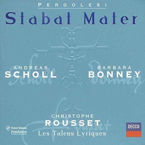 Giovanni Battista Pergolesi - Pergolesi: Stabat Mater; Salve Regina /scholl <ul> Bonney <ul> Les Talens Lyriques <ul> Rousset [CD]