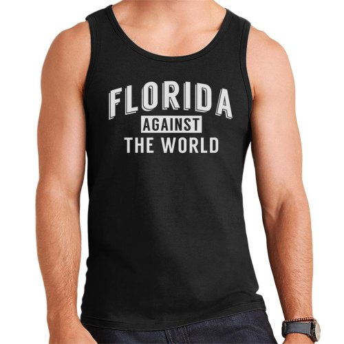 Florida Against The World Angsty Slogan Men's Vest