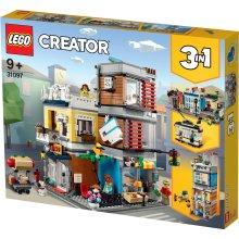LEGO Creator 31097 3-in-1 Townhouse Pet Shop & Café