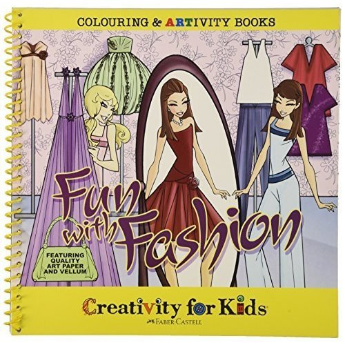 Creativity For Kids - Artivity Book - Fun with Fashion