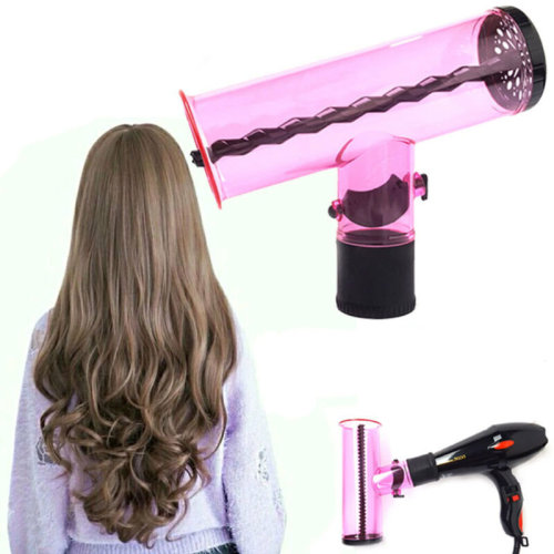 Air Curler Hair dryer Curl Diffuser Spin Roller Cap Gift Home Salon