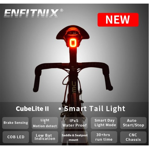 CubeLite II Intelligent Bicycle Taillight