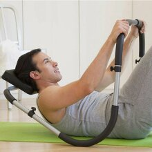 Sit Up Abdominal Roller Trainer Ab Crunch Core Worker Exercise Machine