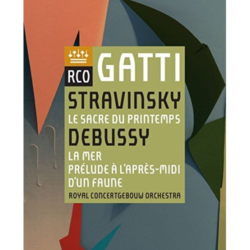 Stravinsky: Le Sacre du printemps / Debussy: La Mer, Prelude a lapres-midi dun faune (DVD) [2017] [DVD]