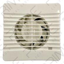 Manrose FLAT100T Axial Extractor Fan 100 mm / 4 Inch (Timer Model)