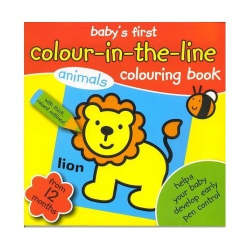 BABY'S FIRST - Colour - in the line- ANIMALS