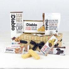 Diabetic Snack Gift Box, Sugar Free Hamper, Diablo Hamper