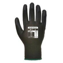 Black  Pu Palm Coated Glove (a120) Portwest Size XL