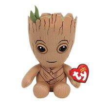 "Ty Marvel Groot Beanie 7"" Plush Toy"