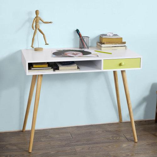 SoBuy® FWT24-W, Home Office Table Desk Computer Desk Workstation