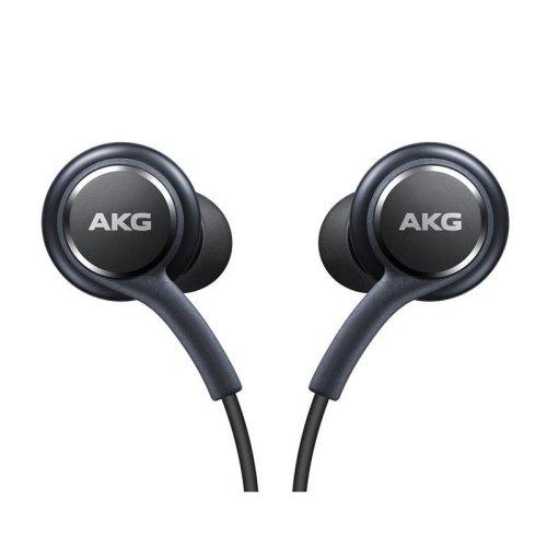 Official Samsung Galaxy S8 / S8+ Headphones / Earphones - Tuned by AKG / Harman Kardon - Black (EO-IG955BSEGWW) - Bulk Packed