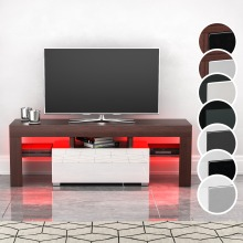 Lune LED TV Stand 1 Drawer Entertainment Cabinet