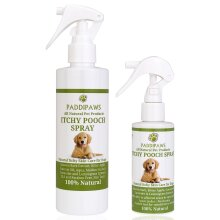 PADDIPAWS 100% Natural Itchy Dog Spray - Rapid Relief from Itching and Discomfort