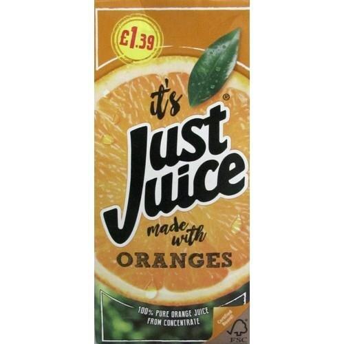 Just Juice Orange 8 x 1L