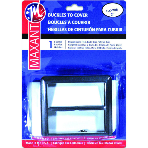 """Maxant Button Buckle Cover Kit-2"""" Square"""