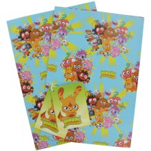 Moshi Monsters gift wrap
