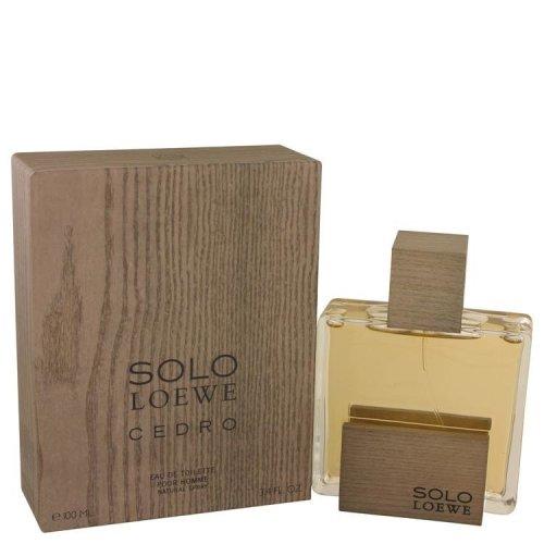 Solo Loewe Cedro by Loewe Eau De Toilette Spray 3.4 oz