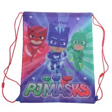 PJ Masks Childrens/Kids Here To Help Drawstring Bag