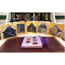 The Guardians Crown card pack of 5 greetings cards by Hannah Willow