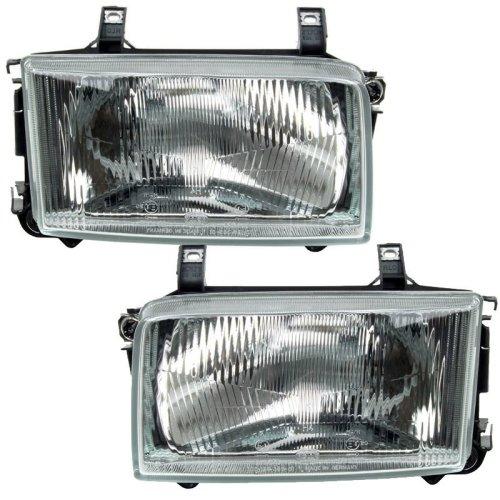 Volkswagen Transporter T4 1997-2003 Headlights Headlamps 1 Pair O/s & N/s
