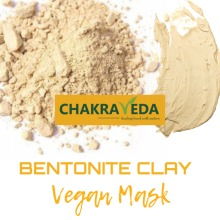 Bentonite Clay, 100% Natural , Best Skin whitening, 100g by ChakraVeda